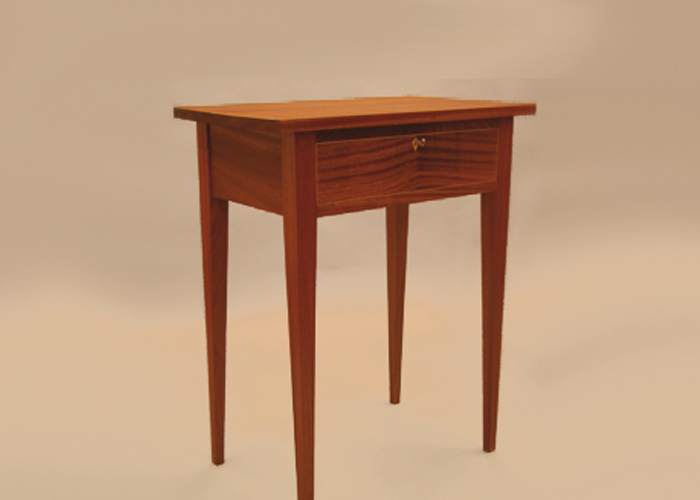 Sapele side table