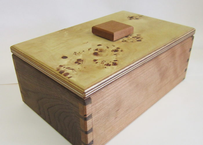 Dovetailed box
