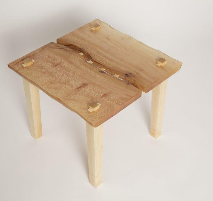London bridged plane maple coffee table