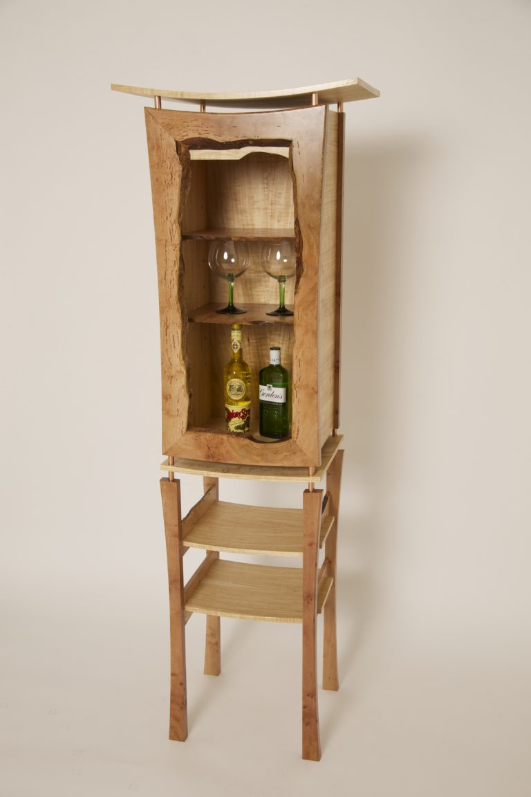 Plane drinks cabinet