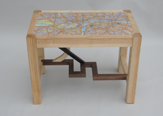Map stool