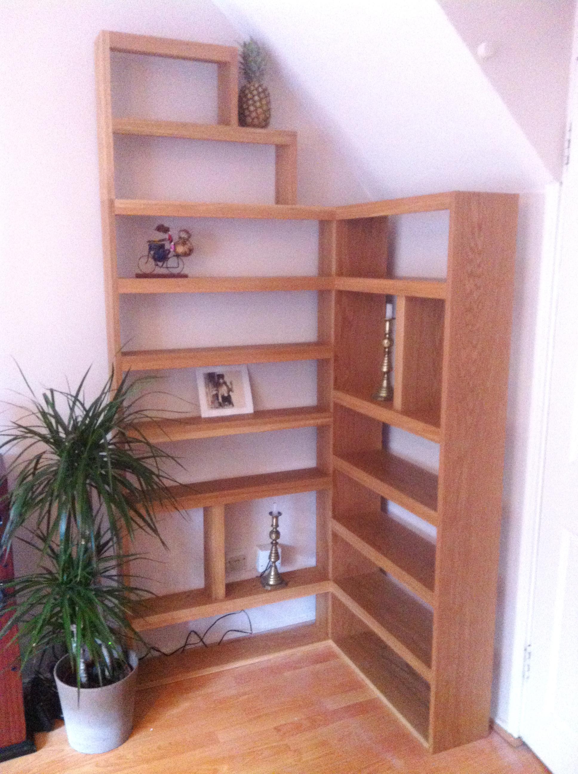 Corner Bookcase Bertram Whitford
