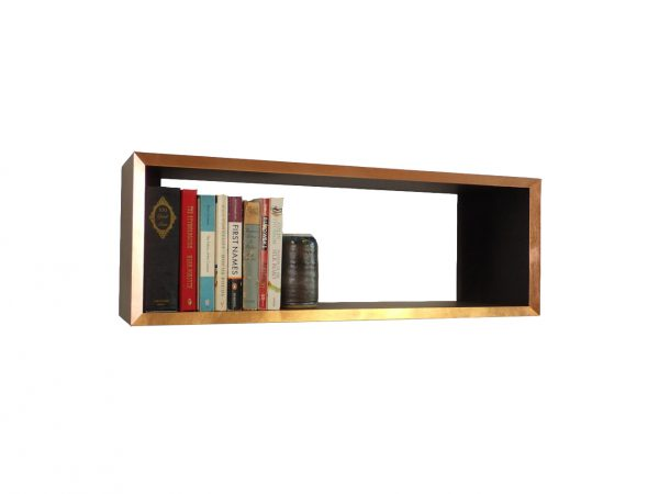 copper edge valchromat bookshelf