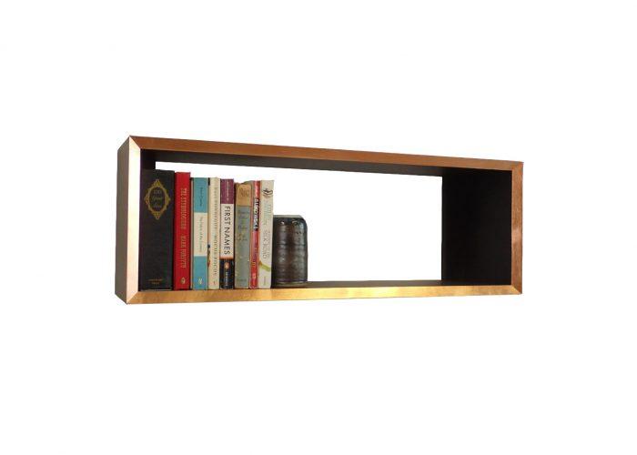 copper edge valchromat bookshelf
