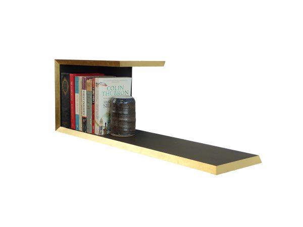 Gold gild edge valchromat bookshelf