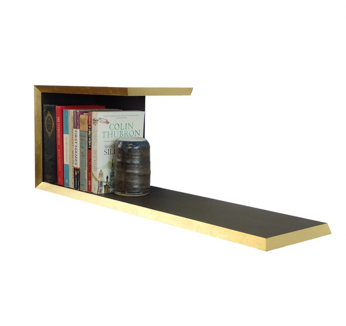Gold gild edge valchromat bookshelf