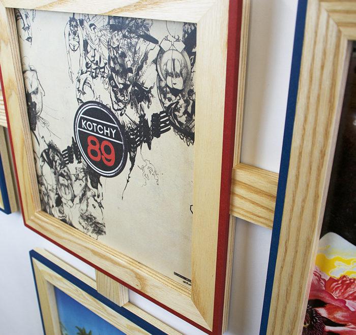 Vinyl frame for record lp frame kotchy
