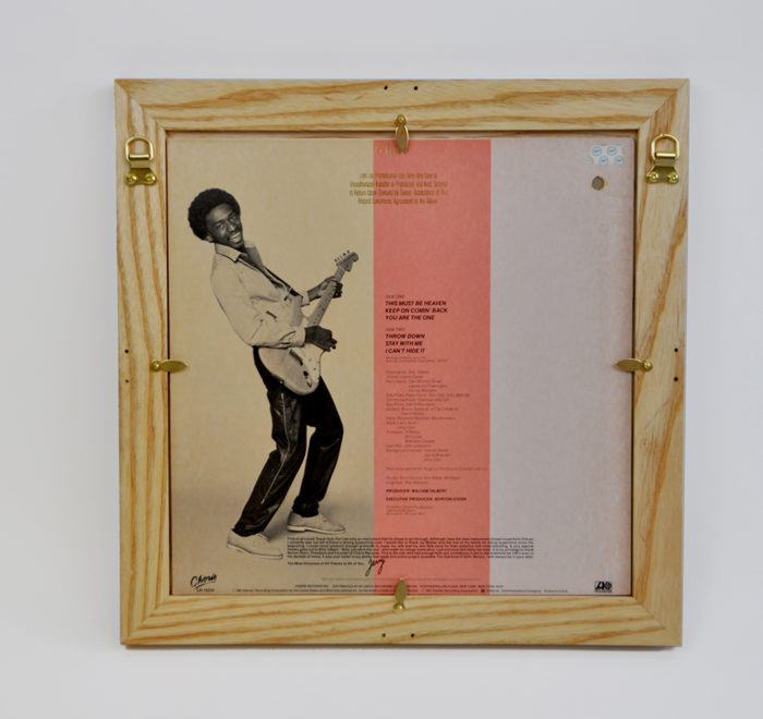 Vinyl frame for record lp frame carr back
