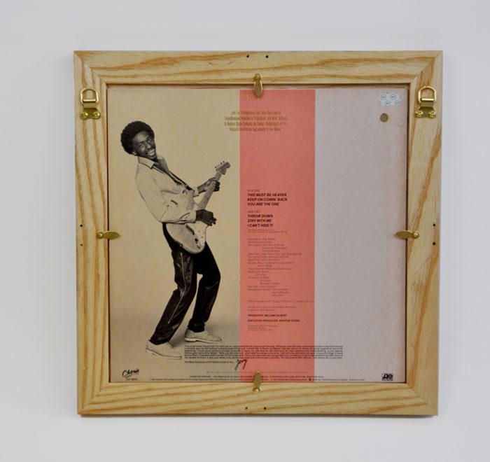 Vinyl frame for record lp frame carr back