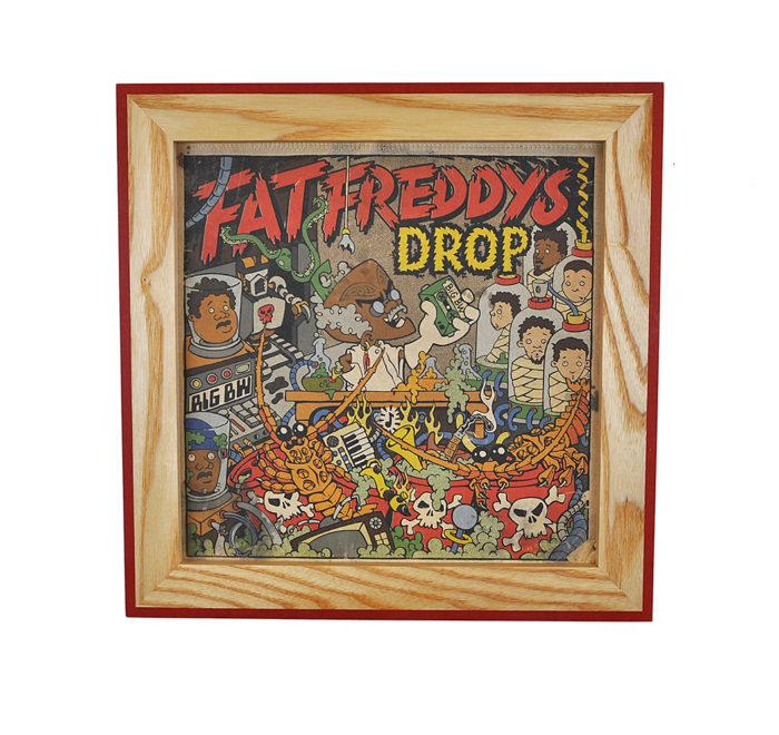Vinyl frame for record lp frame fat freddys drop