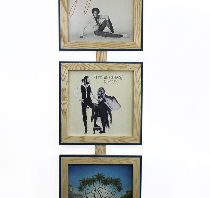 Vinyl frame for record lp frame