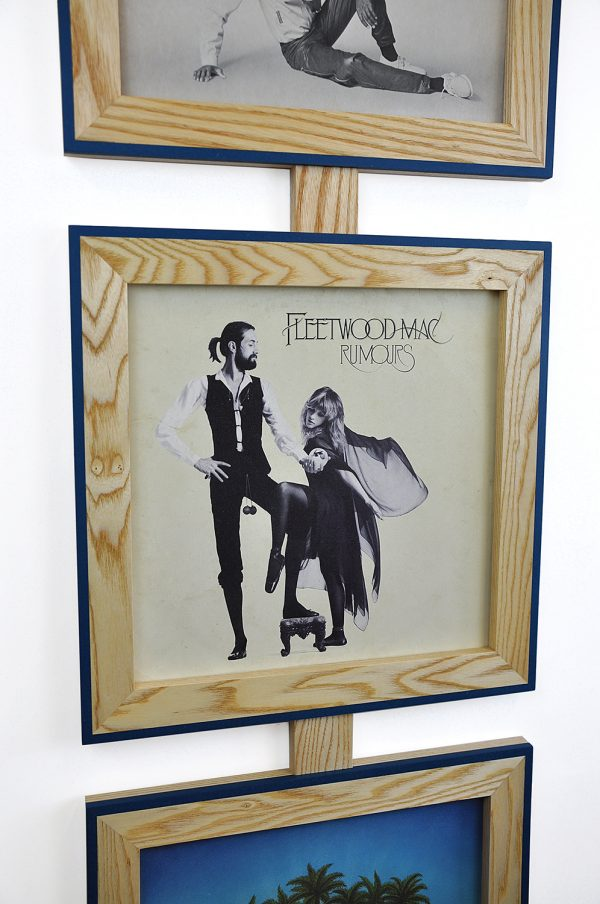 Vinyl frame for record lp frame fleetwood mac