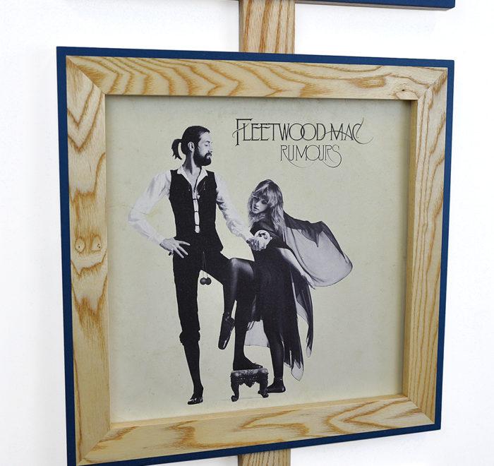Vinyl frame for record lp frame fleetwood mac