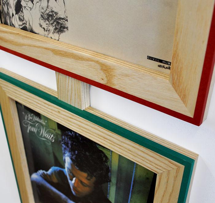 Vinyl frame for record lp frame tom waits