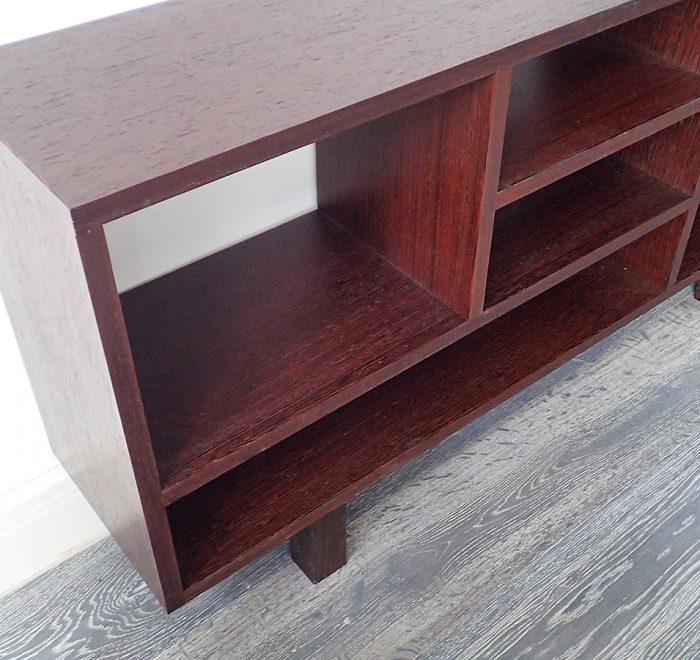 Wenge cabinet shelves