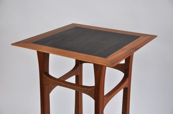 Sapele side table rosewood 2