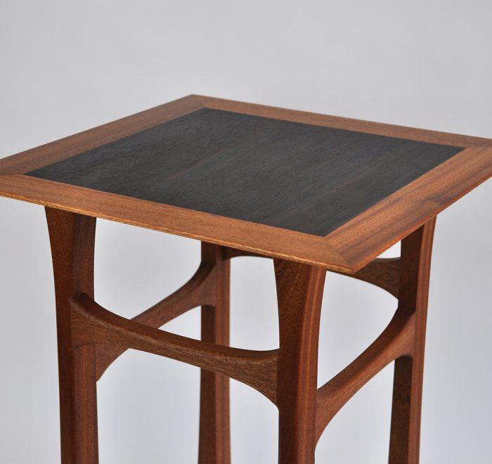 Sapele side table rosewood 2