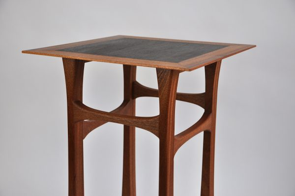 Sapele side table rosewood