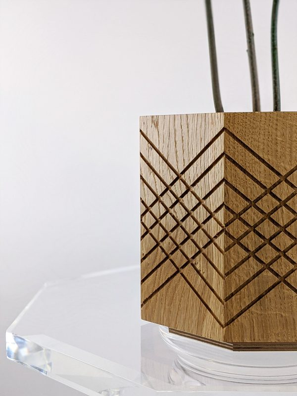 Handmade indoor planter pot