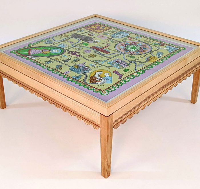 Grayson perry scarf coffee table main